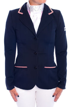 J-Evelyn Competition Jacket (Black/Pink)