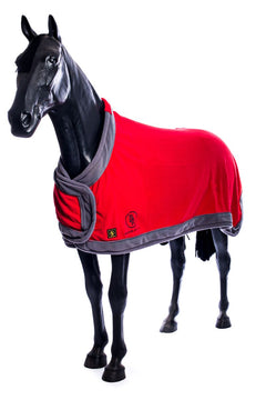 BR Show Fleece (Red with Grey Trim)