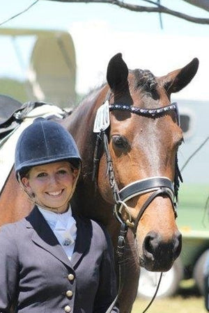 Judi Manche | Browband Famous Classic Tricolore Blue - Kate Raymond - Australia