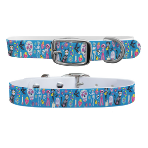 C4 Dog Collar (Day of the Dead)
