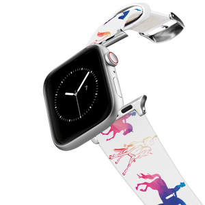 C4 Apple Watch Band (Dressage Geometric)
