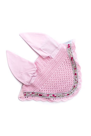 Marta Morgan Fly Ears (Pink with a Floral Trim)