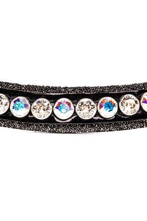 Browband Crystal Fabric Classic A/B Crystal