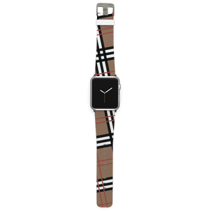 C4 Apple Watch Band (Khaki Plaid)
