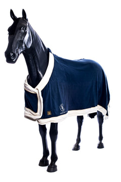 BR Show Fleece (Navy with White Trim)