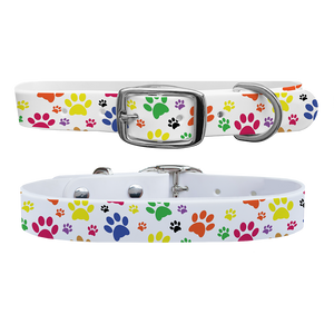 C4 Dog Collar (Pawprints)