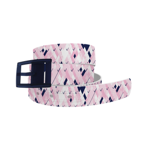 C4 Belt (Pink Plaid)