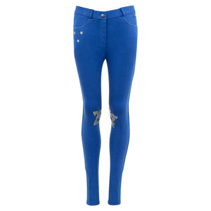 Premiere Junior - Bluebell Sticky Knee Breeches (Royal Blue)