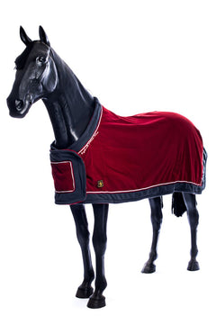 BR Show Fleece (Burgundy with Grey Trim)