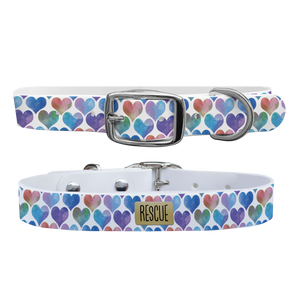 C4 Dog Collar (Rescue Blue Hearts)