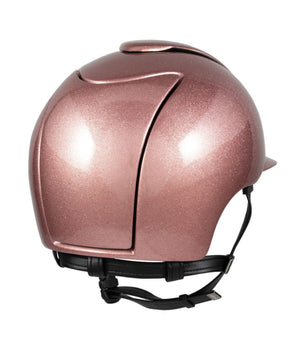 Cromo Metal Flake Helmet (Rose Gold)