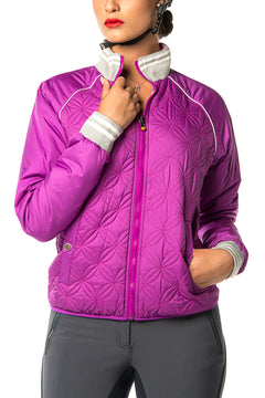 Grenoble Jacket (Purple Flower)
