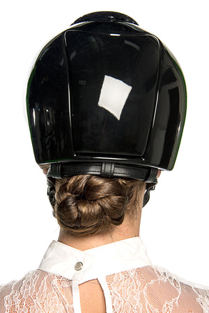 Cromo Polish Latex Helmet (Black Latex)