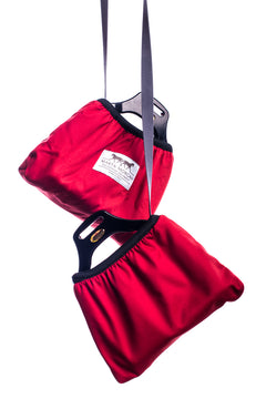 Marta Morgan Stirrup Cover (Red)
