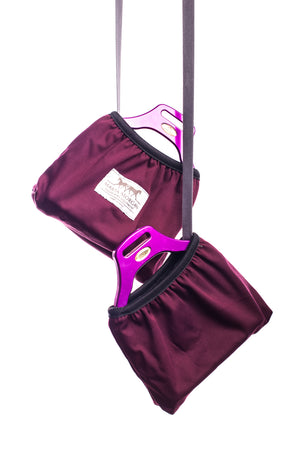 Marta Morgan Stirrup Covers (Bordeaux)