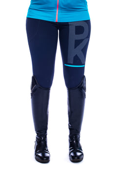 Spiros Full Grip Tights Blue Bird