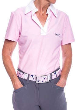 Lucy Polo Shirt (Pink)