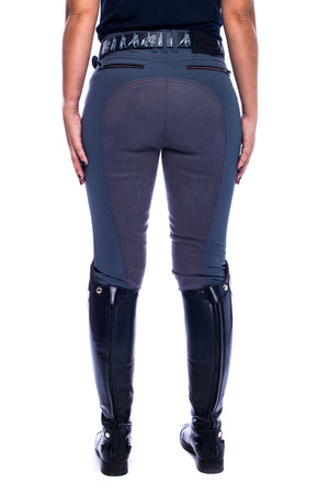 Crusader Full Seat Breeches (Stone Grey)