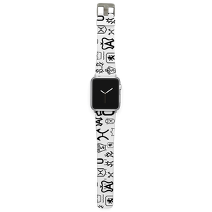 C4 Apple Watch Band (Warmblood Brands White)