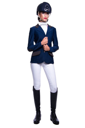 J - Anastasia Competition Jacket (Navy/Brown)