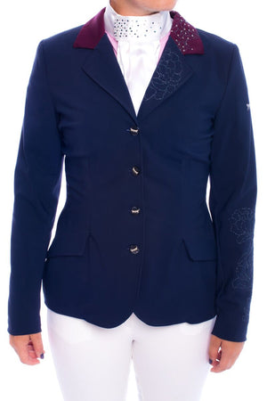 J-Margot Peony Competition Jacket (Navy/Bordeaux)