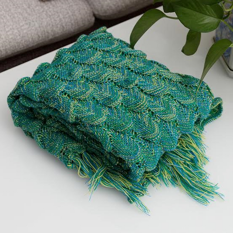 Mermaid Blanket - Ariel Green