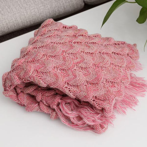 Mermaid Blanket - Pink