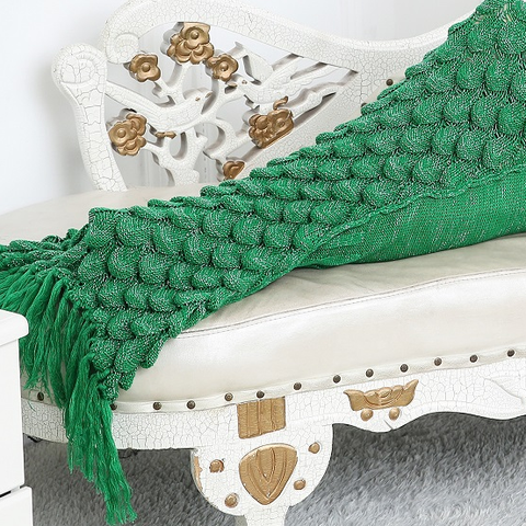 Mermaid Blanket - Green