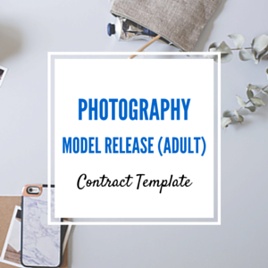 Contract Template: Adult Model Release Template