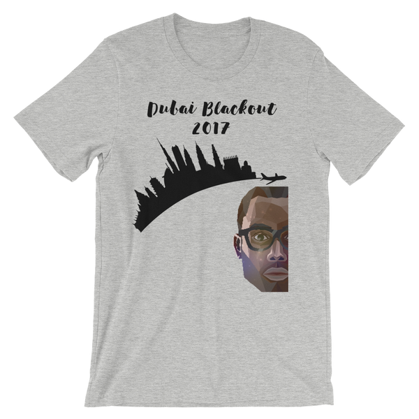 Dubai Blackout 2017 Black Man Shirt