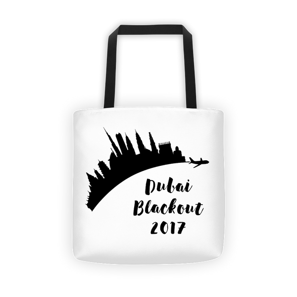 Dubai Blackout Tote Bag