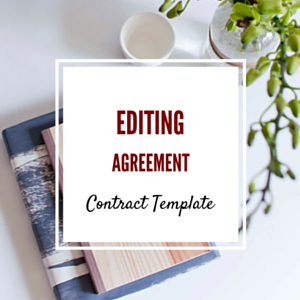 Contract Template: Editing Agreement Template