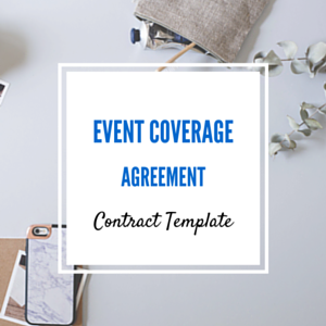 Contract Template: Event Coverage Agreement Template