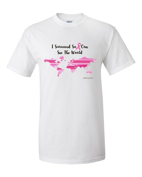 Breast Cancer Awareness Limited Edition: I Survived-World