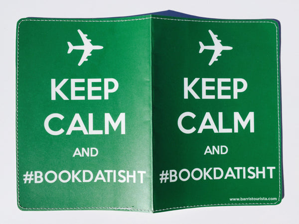 Keep Calm Passport Holder