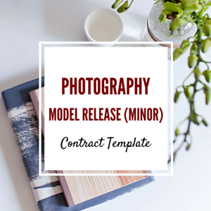 Contract Template: Minor Model Release Template