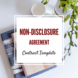 Contract Template: Non-Disclosure Agreement Template