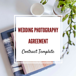 Contract Template: Wedding Photography Agreement Template