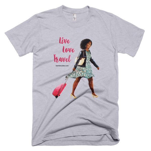 Live Love Travel-Women's Fine Jersey T-Shirt