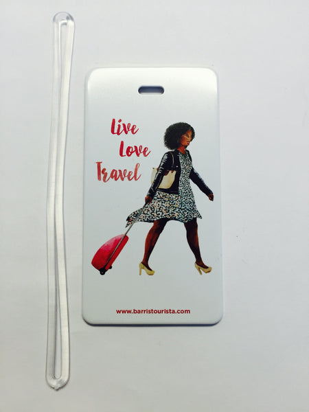 Live Love Travel Luggage Tag