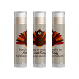Thanksgiving Turkey Party Favors Lip Balm, Set of 15