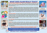 Myths About Islam - Post Cards (100)