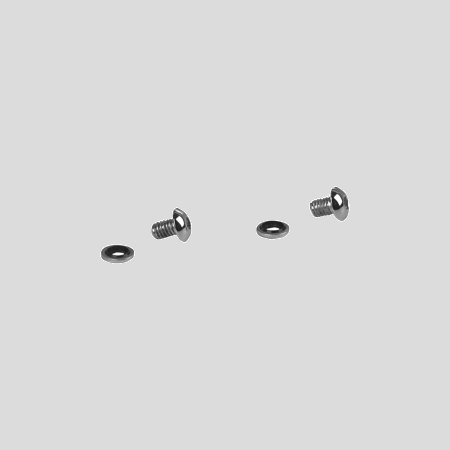 Harley Davidson Fork Drain Screw Kit Chrome
