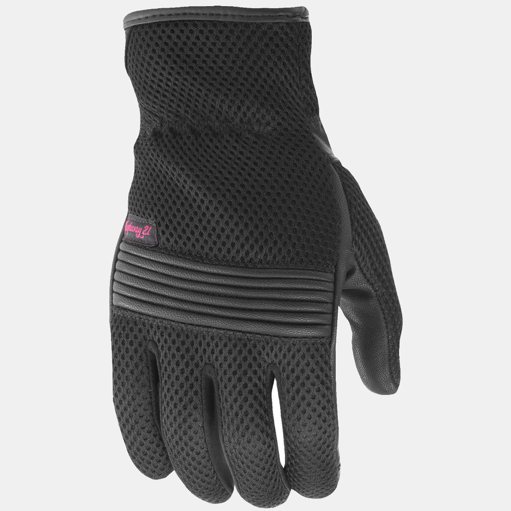 Highway 21 Women's Turbine Mesh Gloves - Black