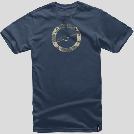 Alpinestars Ring T-Shirt - Navy