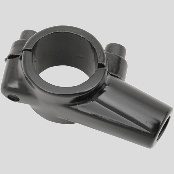 Mirror Mount Clamps - Black