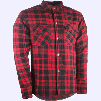 Highway 21 Marksman Riding Flannel - Black/Red