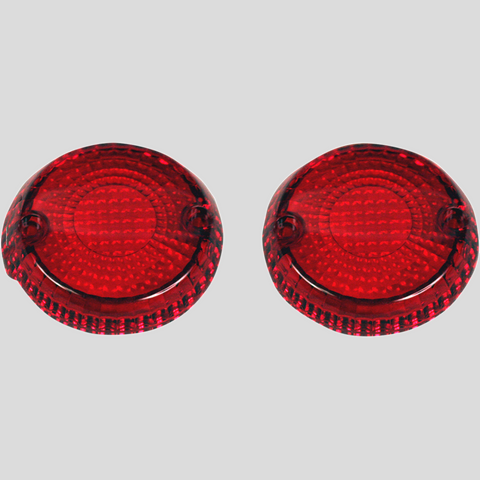 Turn signal replacement lens - Red VN900