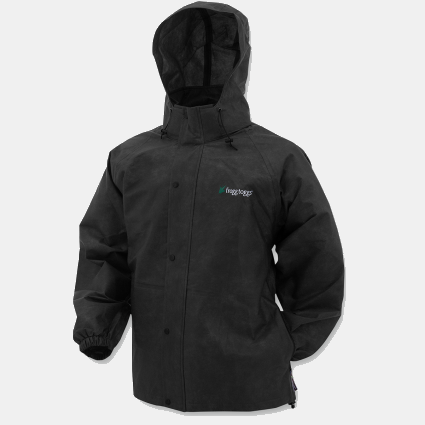 Frogg Toggs Pro Action Rain Jacket - Black