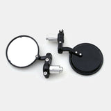 "Bar End Mirror 3"" Adjustable Clamp"